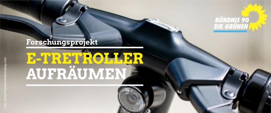 E-Tretroller aufräumen & Abstellplatz für Rad und Lastenrad schaffen