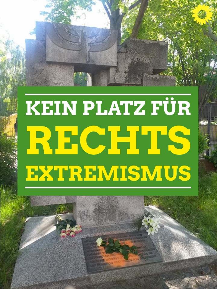 Synagoge Münchener Straße: Kein Platz für Rechtsextremismus!