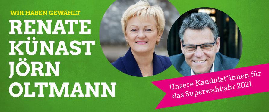 Renate Künast & Jörn Oltmann