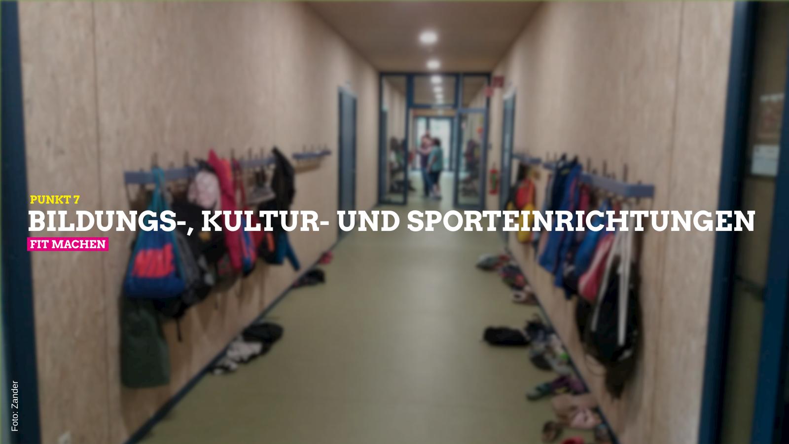 Punkt 7 Bildung Kultur Sport