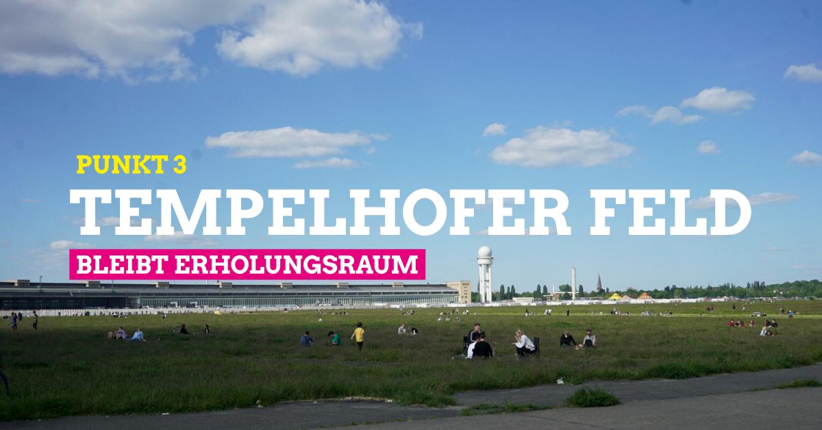 Punkt 3 Tempelhofer Feld