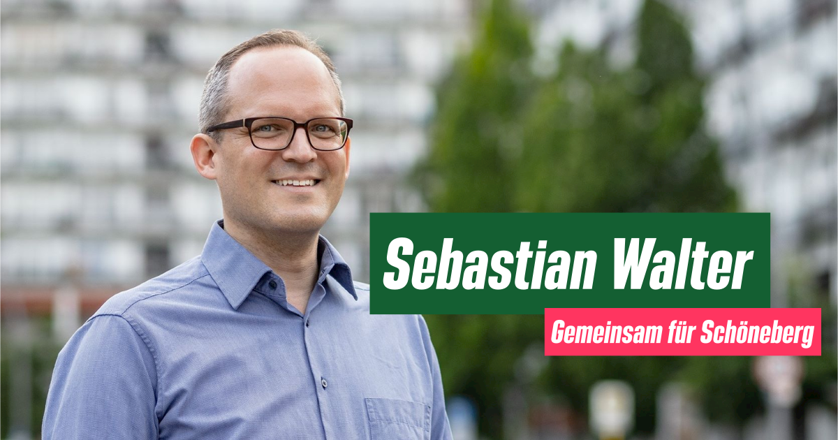 Sebastian Walter: Gemeinsam für Schöneberg