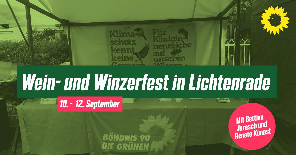 Wein- und Winzerfest in Lichtenrade