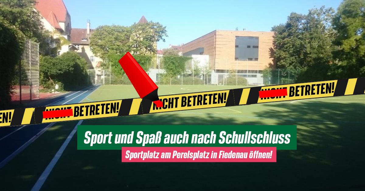Mehr Sport-Platz für Kinder und Jugendliche in Friedenau