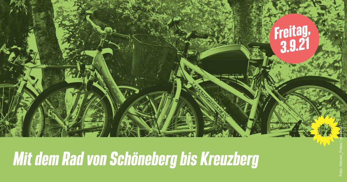 Mit dem Rad von Schöneberg bis Kreuzberg